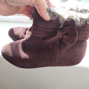 Janie and Jack girl's sz 2 boots